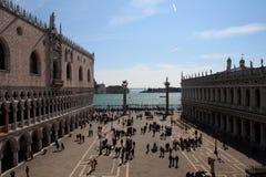 Венеция, грандиозный канал и квадрат St Mark Стоковое Изображение RF