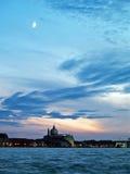 Венеция: заход солнца Стоковое Изображение