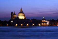 Венеция - заход солнца Стоковое Изображение