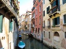20 06 2017, Венеция, Италия: Взгляд исторических зданий и каналов Стоковое фото RF