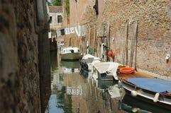 ВЕНЕЦИЯ, ИТАЛИЯ - каналы Венеции, венето, Италии, Европы Стоковая Фотография