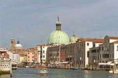 Венеция, Италия: мост contitution и канал gran стоковые изображения