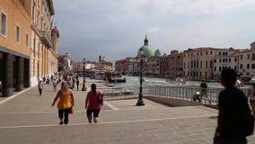 Венеция, Италия - гондолы сток-видео