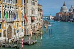 Венеция Италия, грандиозный канал Стоковая Фотография