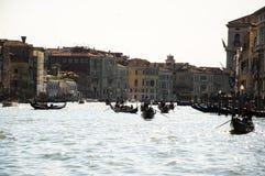 Венеция, Италия Грандиозный канал Стоковая Фотография
