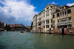 Венеция, Италия, канал большой Стоковые Фото