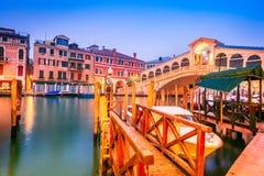 Венеция, канал большой - Италия стоковое фото rf