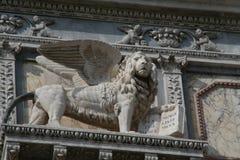 Венеция, лев Сан Marco стоковая фотография rf
