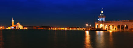 Венеция на заходе солнца стоковое изображение rf
