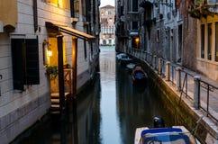 Венеция на ноче Стоковые Фотографии RF