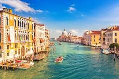 Венеция на солнечном вечере Стоковая Фотография