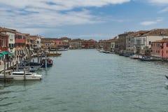 Венеция, остров Murano Стоковое Изображение RF