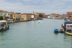Венеция, остров Murano Стоковое Изображение