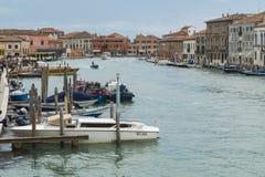 Венеция, остров Murano Стоковые Фото