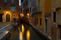 Венеция, романтичный город. Стоковое Изображение RF