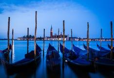 Венеция - Сан Giorgio Maggiore на восходе солнца Стоковое фото RF