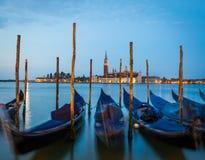 Венеция - Сан Giorgio Maggiore на восходе солнца Стоковые Фотографии RF