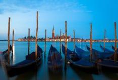 Венеция - Сан Giorgio Maggiore на восходе солнца Стоковая Фотография