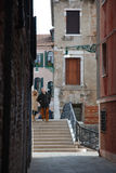 Венеция, улицы Стоковое Изображение RF