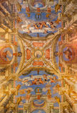 Венеция - фреска от церков Chiesa di Sant Alvise Стоковое Изображение