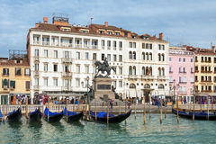 Венеция - хозяйка Адриатического моря, жемчуг Италии Стоковое Фото