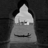 Венеция через Keyhole Стоковые Фотографии RF