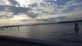 Венеция через Lido стоковые изображения rf