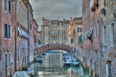 Венеция HDR Италия Стоковое Изображение