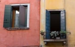 2 Венеция Windows Стоковое Изображение RF