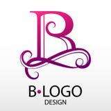 Вензель письма логотипа дизайна современный для дела Стоковое фото RF