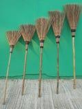 Веники лист кокоса Стоковое Фото