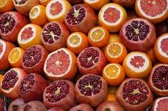 Венисы, мандарины и апельсины Стоковые Изображения