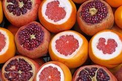 Венисы, мандарины и апельсины Стоковое Фото