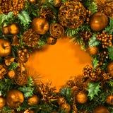 Венок золота праздника Стоковое Фото