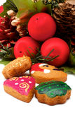 венок печений рождества Стоковые Изображения RF
