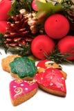 венок печений рождества Стоковое фото RF