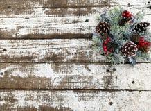 венок рождества декоративный Стоковое Изображение RF