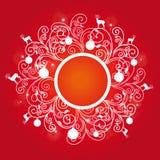 Венок рождества, рождество, Новый Год иллюстрация штока