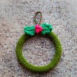 Венок рождества, праздник украшения Xmas Стоковые Фото