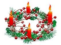 Венок рождества Стоковые Фотографии RF
