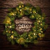 Венок рождества Стоковое Фото