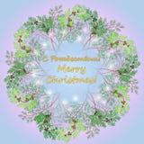 Венок рождества стоковая фотография