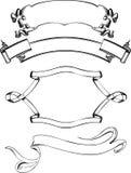 венок сбора винограда кривых 4 знамен иллюстрация штока