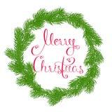 Венок с Рождеством Христовым Стоковое Фото
