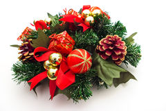 венок украшения рождества Стоковые Фотографии RF