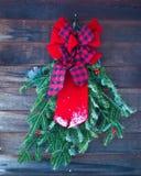 венок украшения рождества Стоковое Изображение RF