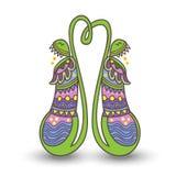 Венок цветка мака Стоковая Фотография