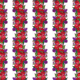 Венок цветка мака Стоковые Изображения RF