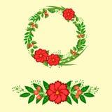 Венок цветка Стоковые Изображения
