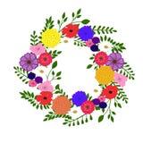 венок цветков стоковое фото